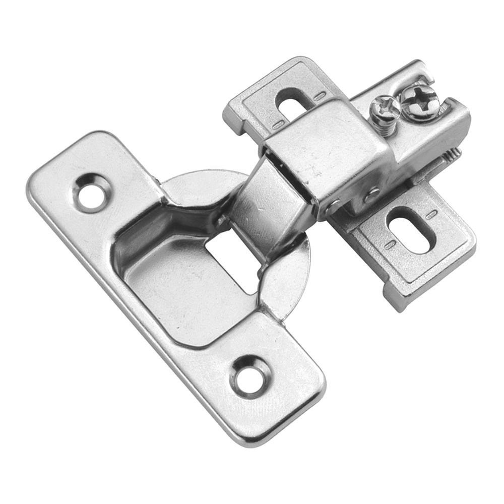 Hickory Hardware P5124-14 Bright Nickel Concealed Face Frame with 1/2 In. Overlay