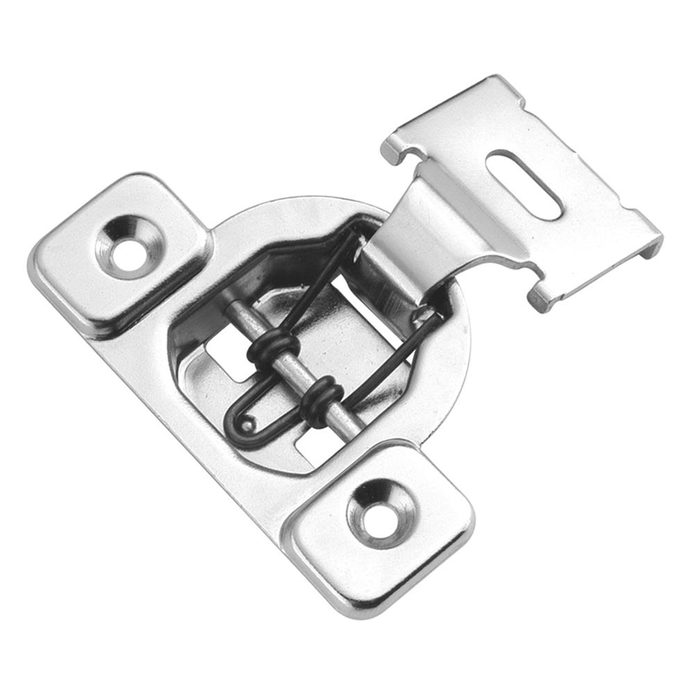 Hickory Hardware P5125-14 Bright Nickel Concealed Face Frame with 1/2 In. Overlay