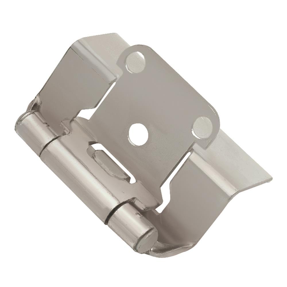 Hickory Hardware P5710F-SN HINGE, SEMI-CONCEALED