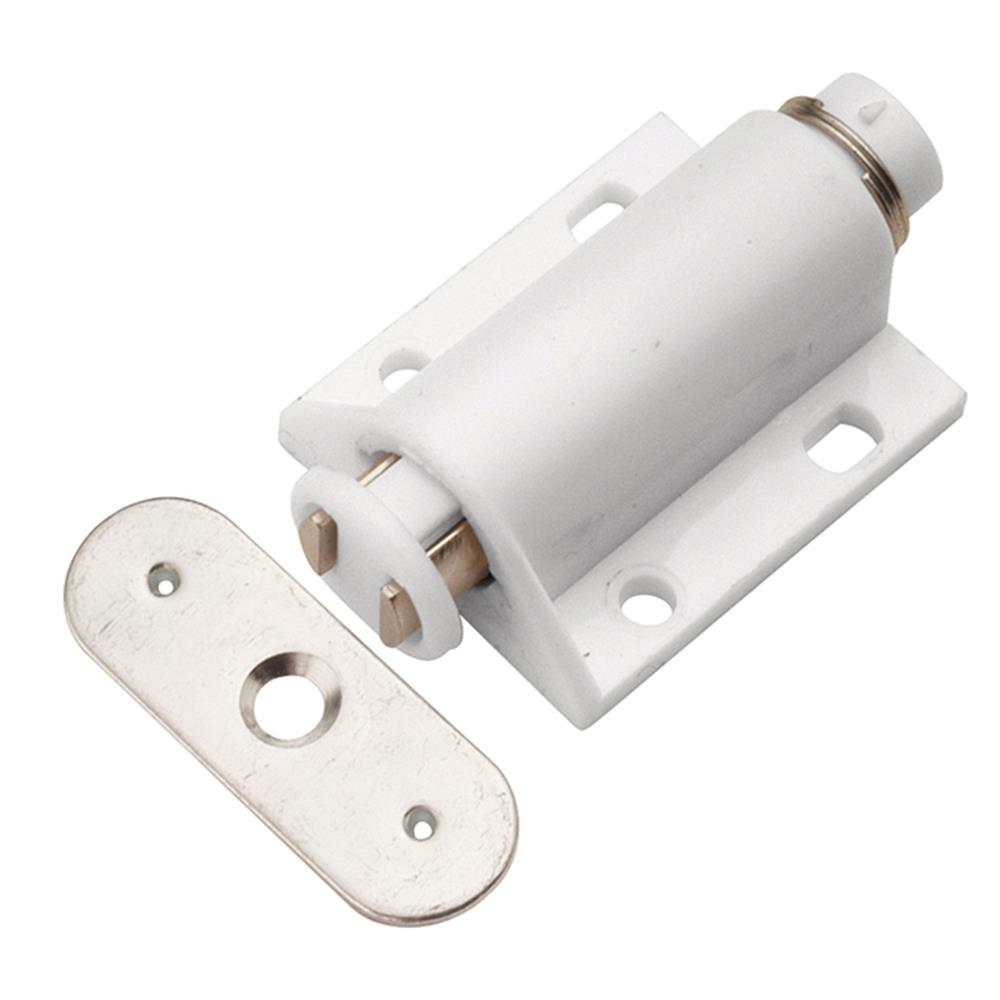 Hickory Hardware P655-W 7/8 In. White Magic Touch Latch