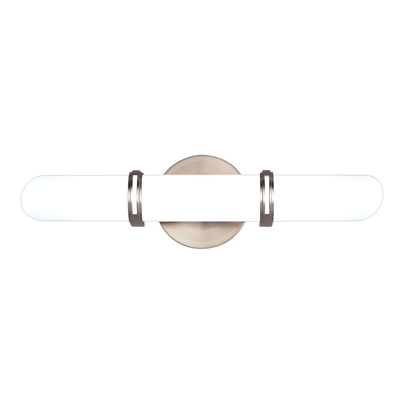 Hudson Valley Lighting 3602-SN Brighton 2 Light Bath Bracket in Satin Nickel