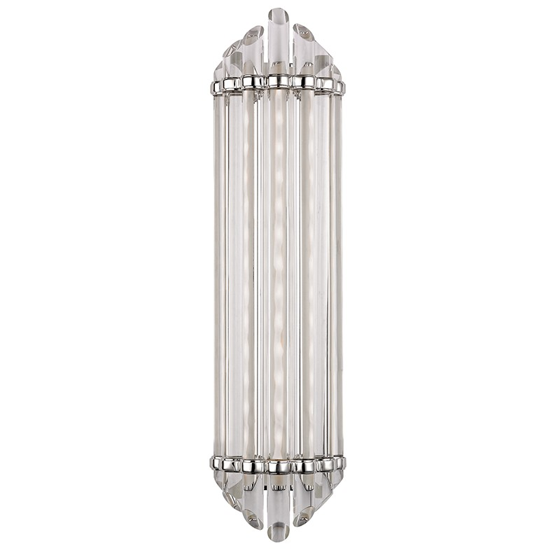 Hudson Valley Lighting 414-PN Albion Led Bath Bracket in Polished Nickel