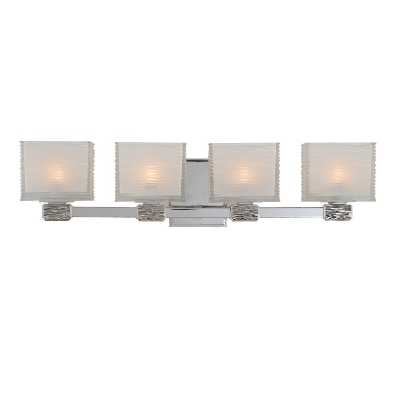 Hudson Valley Lighting 4664-PN Hartsdale 4 Light Bath Bracket in Polished Nickel