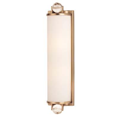 Hudson Valley Lighting 492-PN Prescott 2 Light Bath Bracket in Polished Nickel