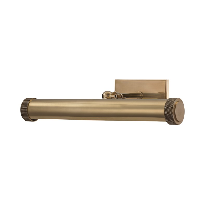 Hudson Valley 5816-AGB Ridgewood 2 Light Picture Light in Aged Brass