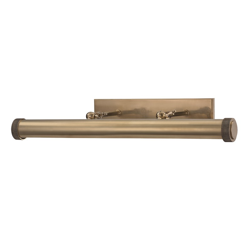 Hudson Valley 5824-AGB Ridgewood 3 Light Picture Light in Aged Brass
