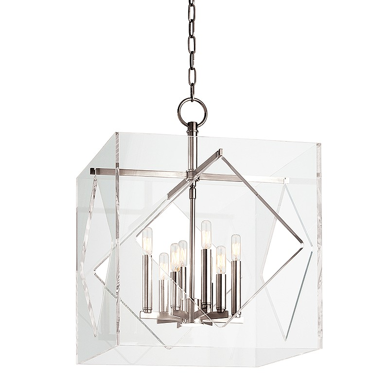 Hudson Valley Lighting 5920-PN Travis 8 Light Pendant in Polished Nickel