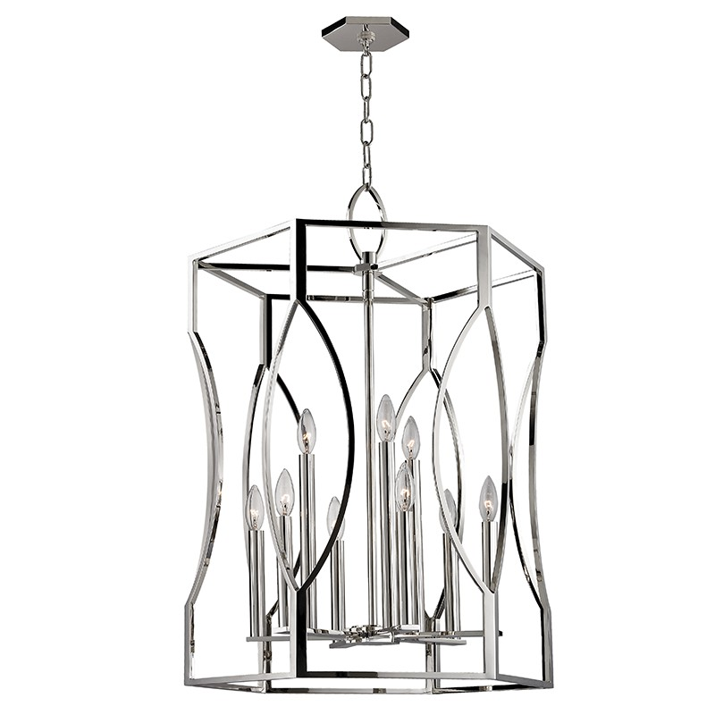 Hudson Valley 6523-PN ROSWELL-PENDANT in Polished Nickel