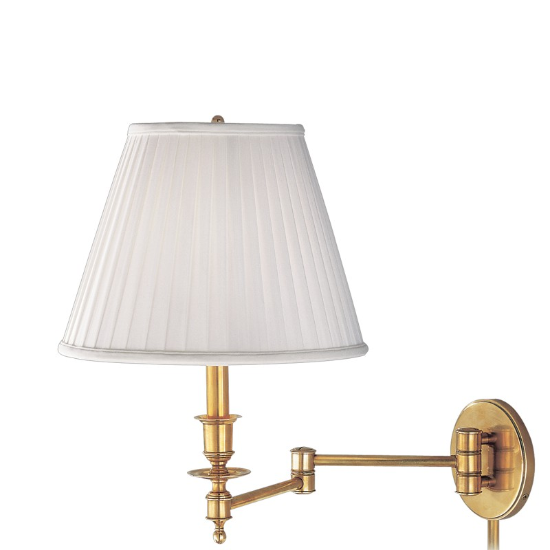 Hudson Valley Lighting 6921-AGB Newport 1 Light Wall Sconce in Aged Brass