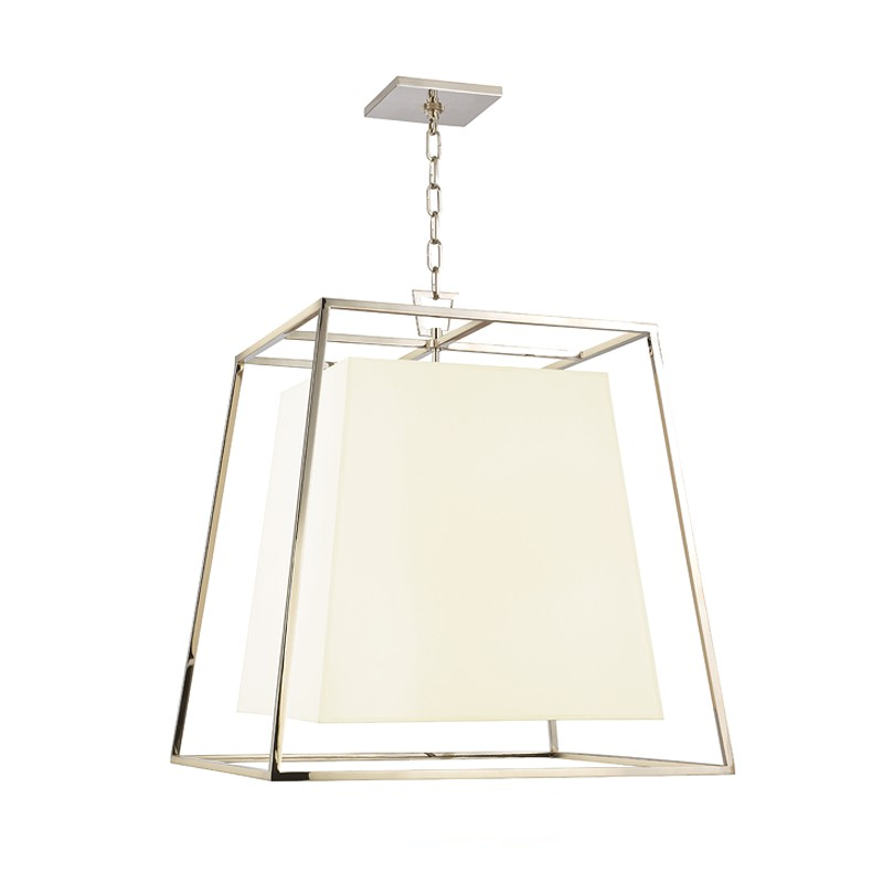 Hudson Valley Lighting 6924-PN-WS Kyle 6 Light Pendant in Polished Nickel