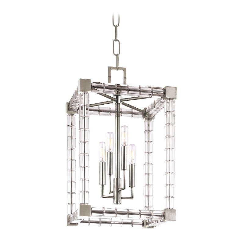 Hudson Valley Lighting 7113-PN Alpine 4 Light Pendant in Polished Nickel
