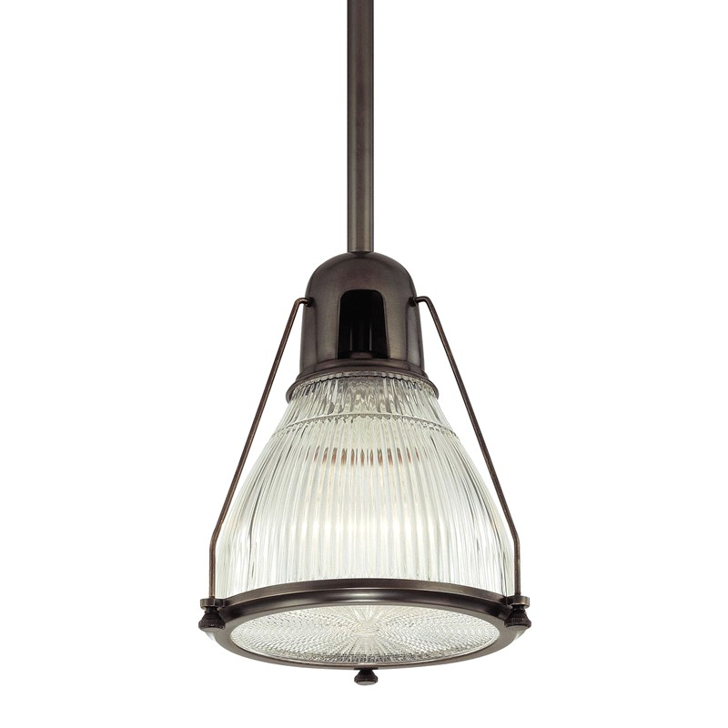 Hudson Valley Lighting 7308-OB Haverhill 1 Light Pendant in Old Bronze