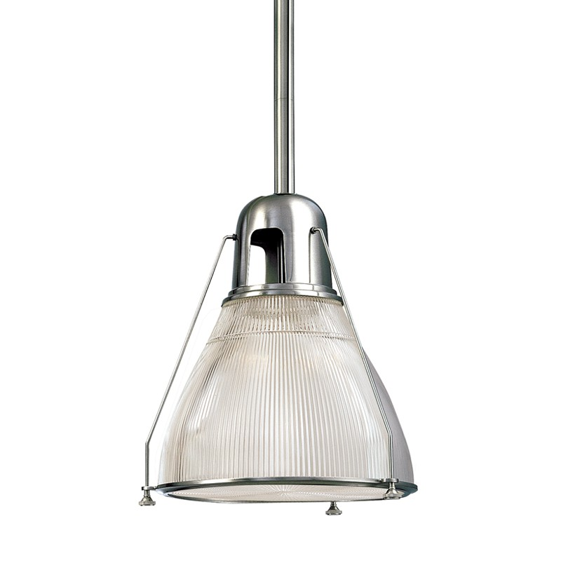 Hudson Valley Lighting 7308-PN Haverhill 1 Light Pendant in Polished Nickel