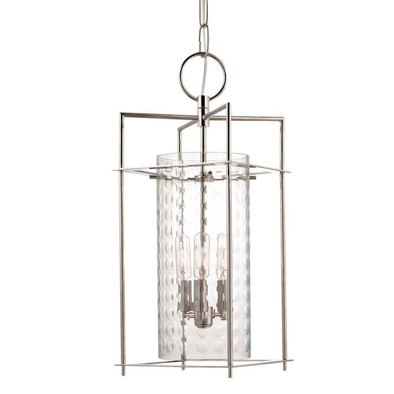 Hudson Valley Lighting 7609-PN Esopus 3 Light Pendant in Polished Nickel