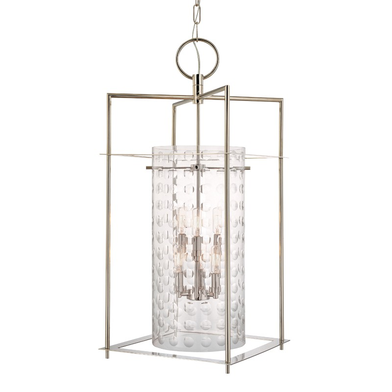 Hudson Valley Lighting 7615-PN Esopus 6 Light Pendant in Polished Nickel