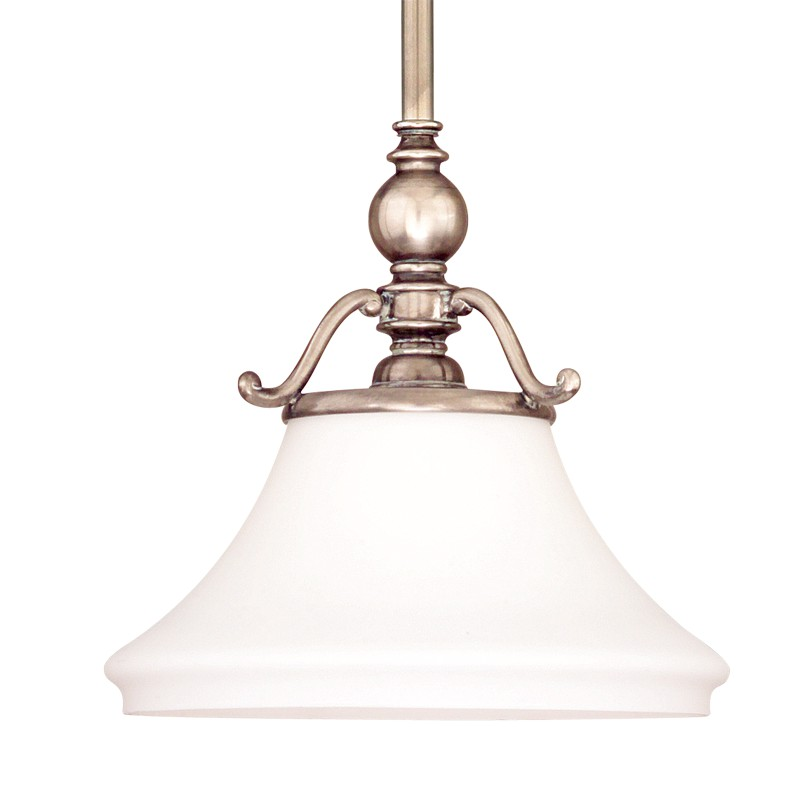 Hudson Valley Lighting 7821-HN Orchard Park 1 Light Pendant in Historic Nickel