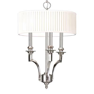 Hudson Valley Lighting 7913-AGB Mercer 3 Light Pendant in Aged Brass