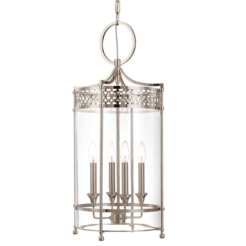Hudson Valley Lighting 8994-PN Amelia 4 Light Pendant in Polished Nickel