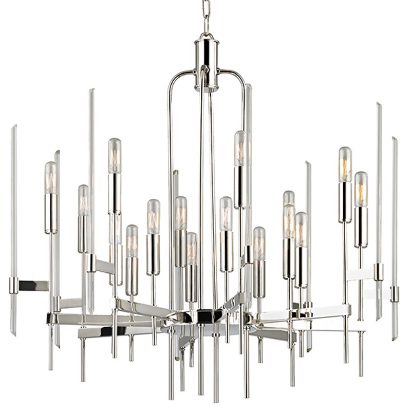 Hudson Valley Lighting 9916-PN Bari 16 Light Chandelier in Polished Nickel