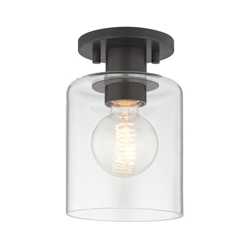 Mitzi by Hudson Valley Lighting H108601-OB NEKO 1 Light Semi Flush