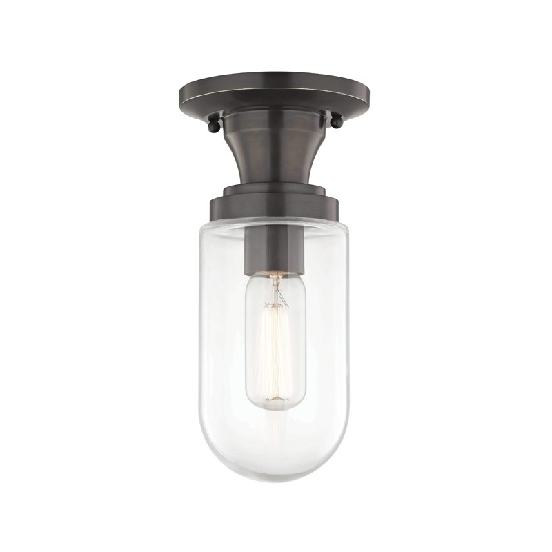 Mitzi by Hudson Valley Lighting H124601-OB CLARA 1 Light Semi Flush