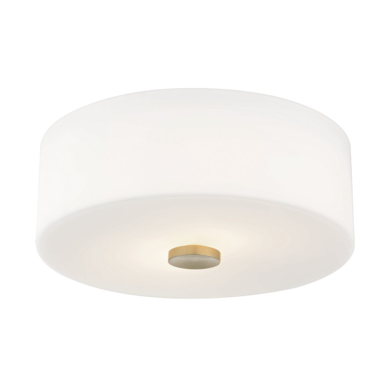 Mitzi by Hudson Valley Lighting H146502-AGB SOPHIE 3 Light Flush Mount