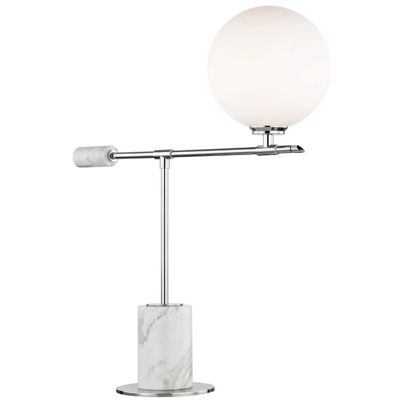 Mitzi by Hudson Valley Lighting HL152201-PN BIANCA 1 Light Table Lamp