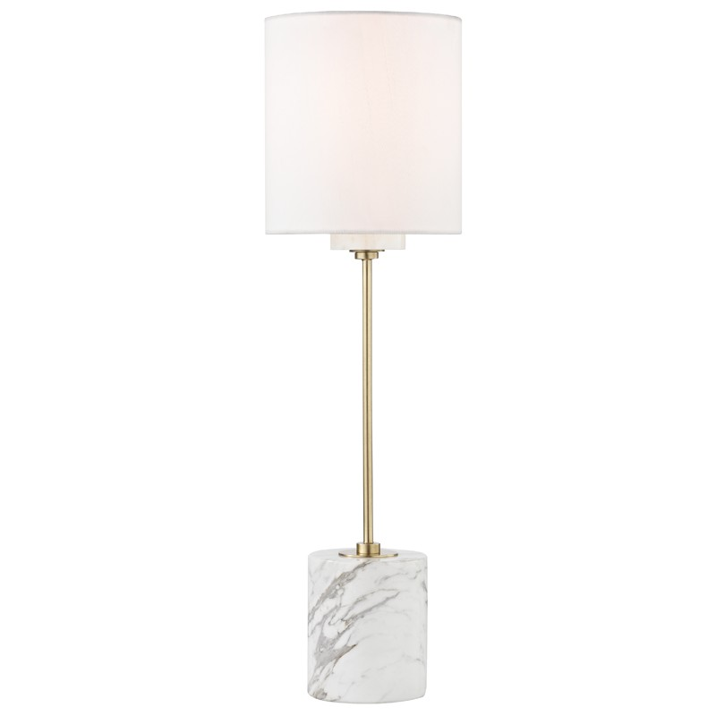 Mitzi by Hudson Valley Lighting HL153201-AGB FIONA 1 Light Table Lamp