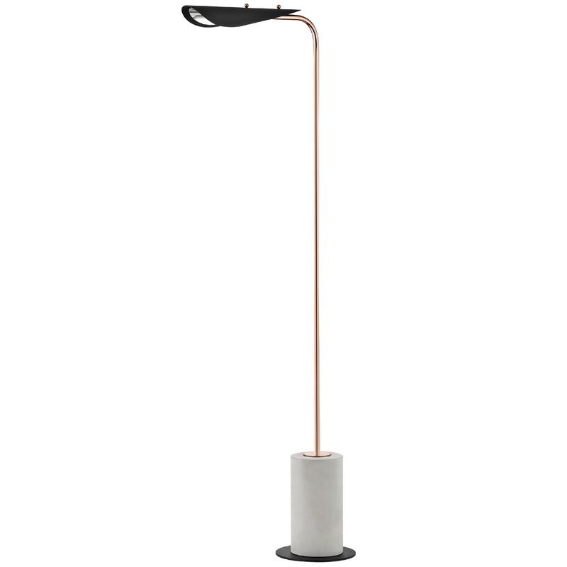 Mitzi by Hudson Valley Lighting HL157401-POC/BK LAYLA 1 Light Floor Lamp