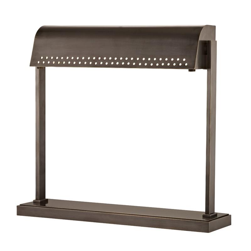 Hudson Valley L811-DB Garfield Led Desk Lamp in Distressed Bronze