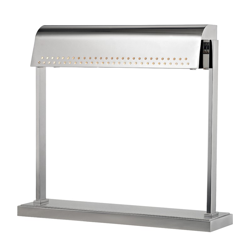 Hudson Valley L811-PN Garfield Led Desk Lamp in Polished Nickel