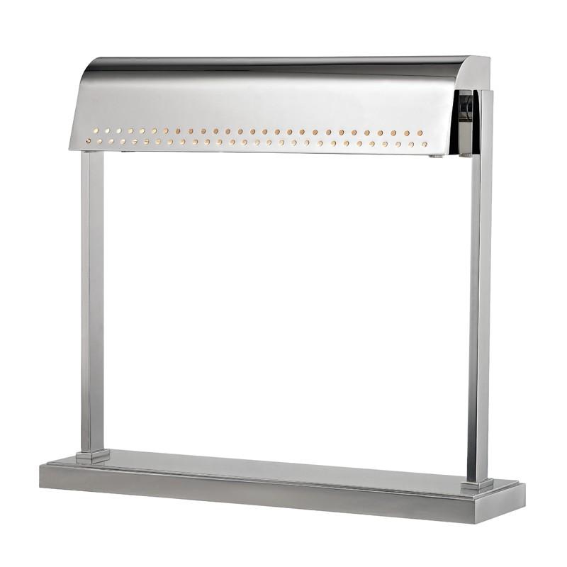 Hudson Valley L811-PN Garfield Led Desk Lamp in Polished Nickel
