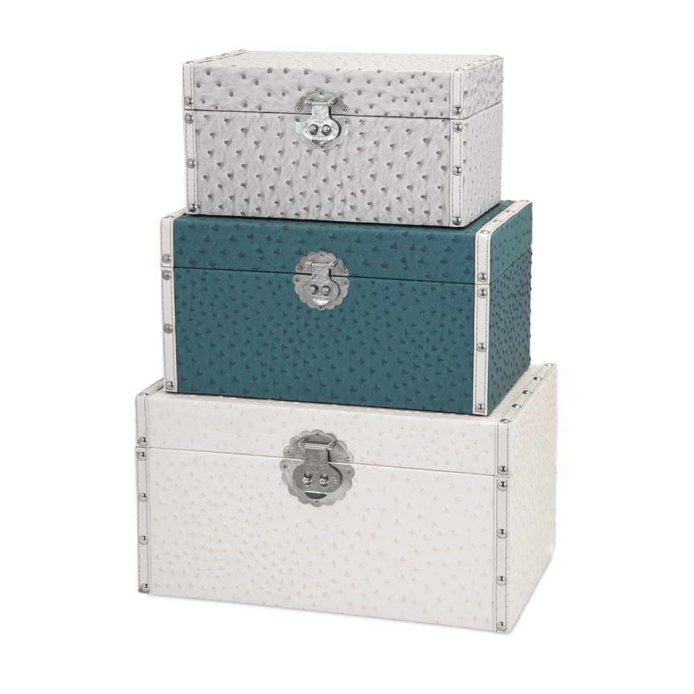 IMAX 52012-3 Claire Trunks - Set of 3