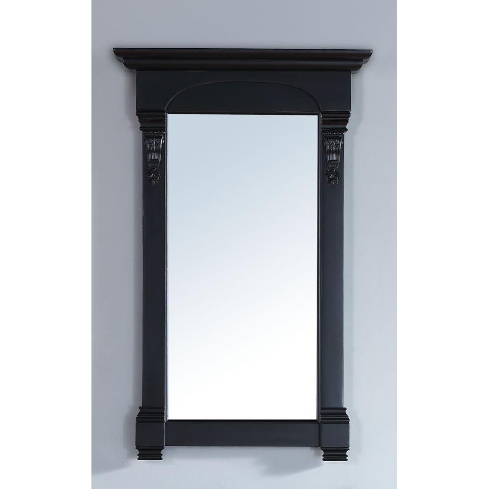 """James Martin Furniture 147-114-5135 Brookfield 26"""" Mirror, Antique Black"""