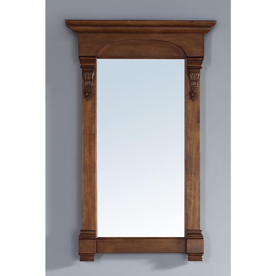 "James Martin Furniture 147-114-5175 Brookfield 26"" Mirror, Country Oak"
