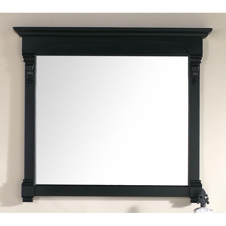 """James Martin Furniture 147-114-5435 Brookfield 47.25"""" Mirror, Antique Black"""