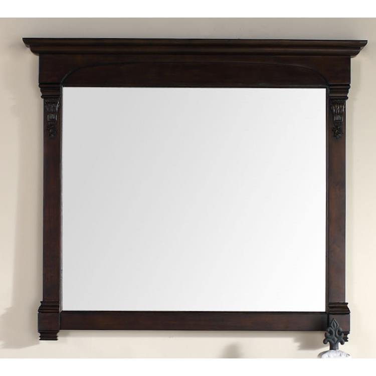"James Martin Furniture 147-114-5465 Brookfield 47.25"" Mirror, Burnished Mahogany"