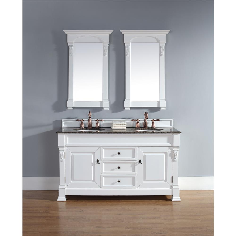 """James Martin Furniture 147-114-5641 Brookfield 60"""" Double Cabinet, Cottage"""