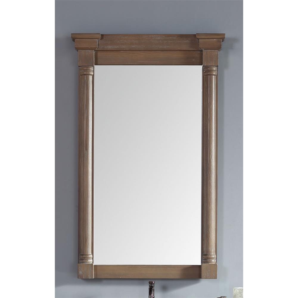 "James Martin Furniture 238-107-5911 Savannah / Providence 27"" Single Mirror, Driftwood"