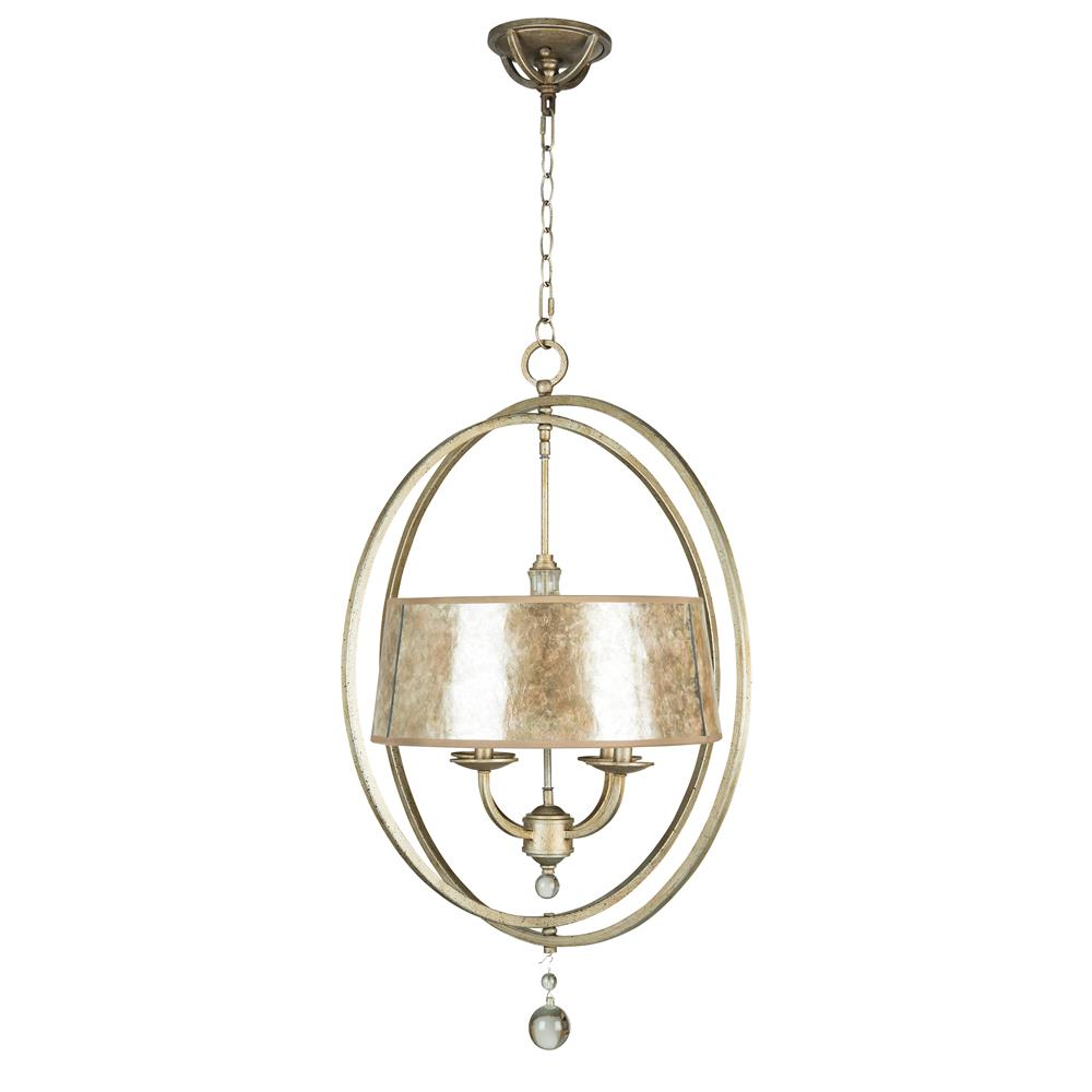 Jeremiah Lighting by Craftmade 35534-AO 4 LIGHT CHANDELIER in ATHENIAN OBOL