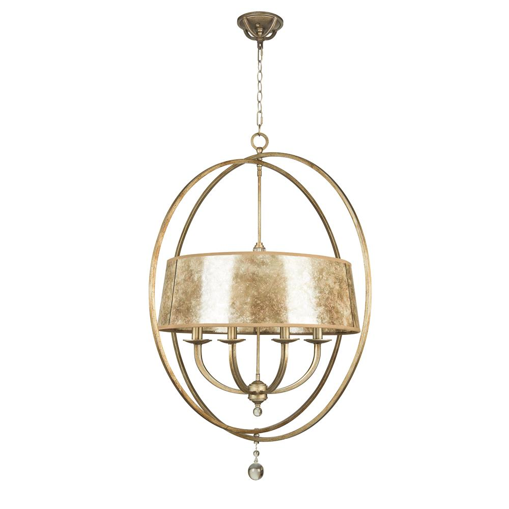 Jeremiah Lighting by Craftmade 35538-AO 8 LIGHT CHANDELIER in ATHENIAN OBOL