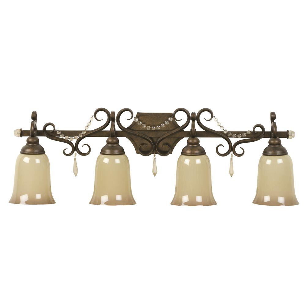 GoingLighting.com 10833PR4 Jeremiah Lighting by Craftmade 10833PR4 4 LIGHT VANITY FIXTURE in ...