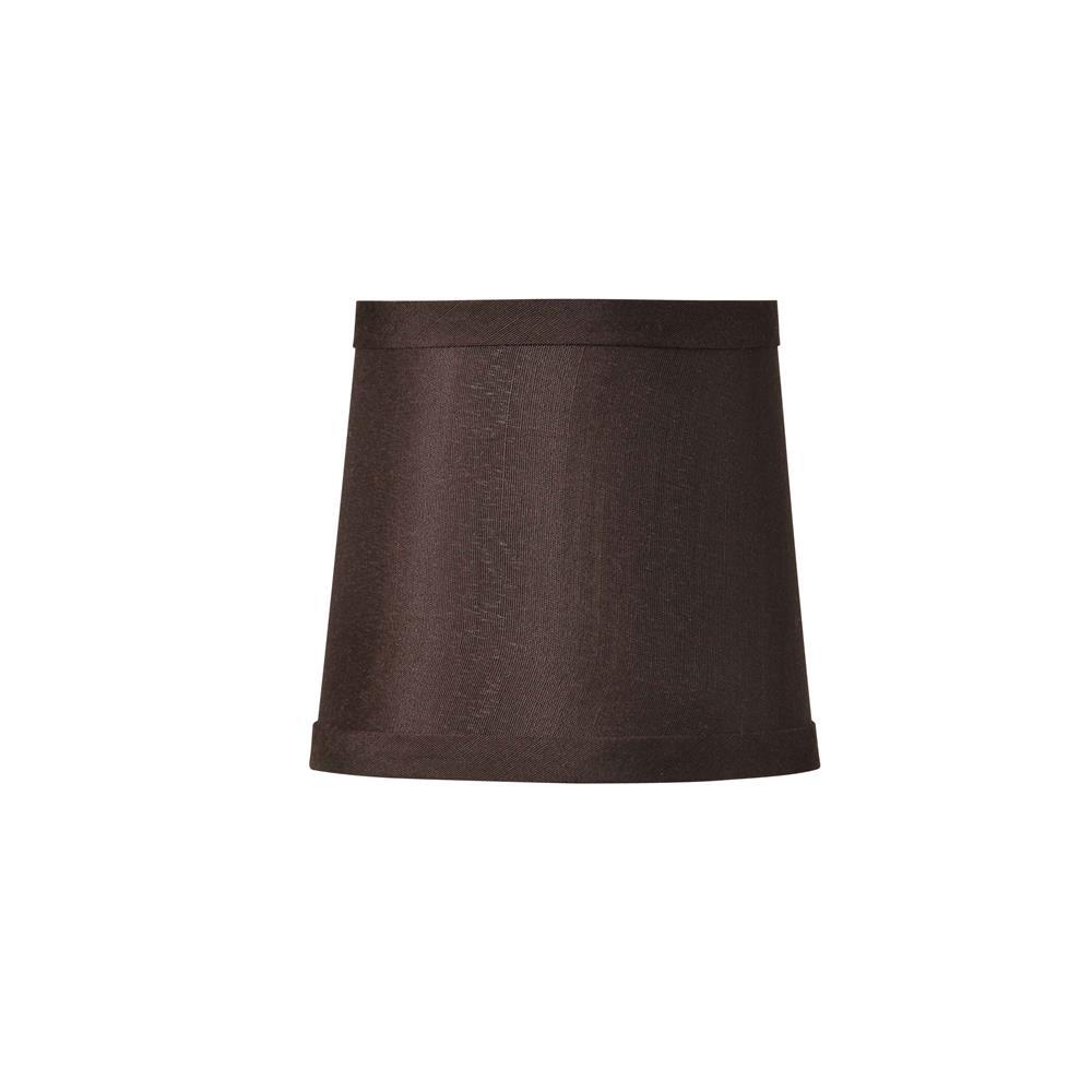 Dark Brown Lamp Shades: Jeremiah Lighting SH42-9,Lighting