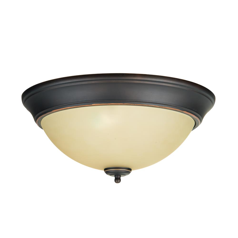Jeremiah Lighting By Craftmade X1315 Mb 15 Amber Frost Gl Step Pan In Metropolitan Bronze