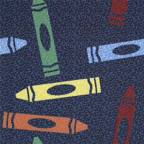 Joy Carpets 916T Multi Totally Tiles Rug