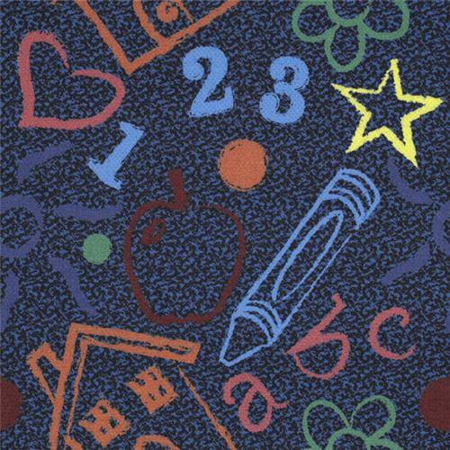 Joy Carpets 917T Multi Totally Tiles Rug