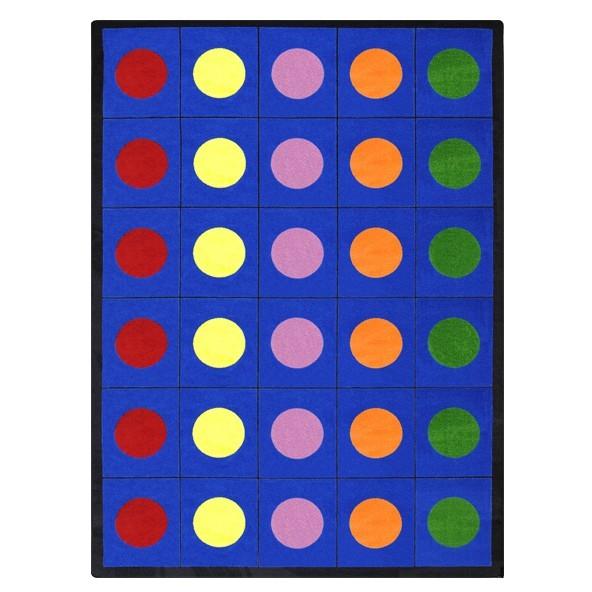 Joy 1430RR-01 Lots of Dots© Area Rug in Multi (2