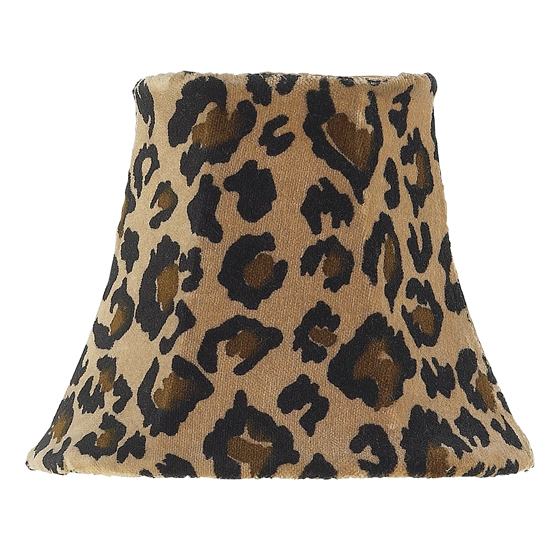 Jubilee Collection 2721 Chandelier Shade in Leopard
