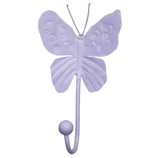Jubilee Collection HK1005 Butterfly Hook in Lavender