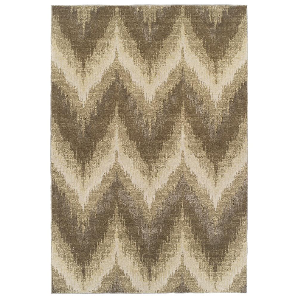 KAS Donny Osmond Home Timeless 8006 Champagne Chevron 2